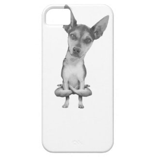 Yogi Doggie cute dog in yoga asana, cool funny iPhone 5 Cover