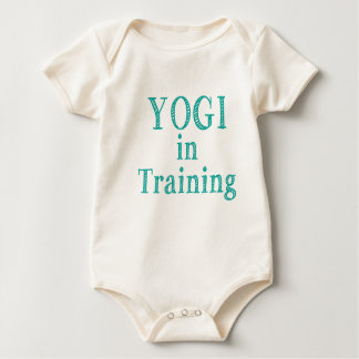 Yogi In Training Baby Bodysuit
