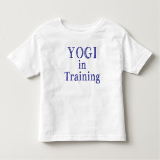 Yogi in Training Toddler Tee