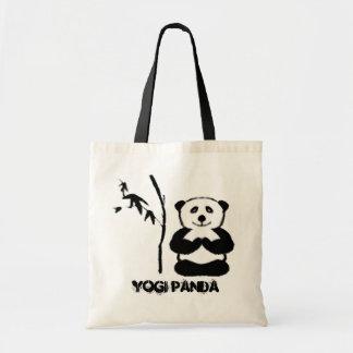 Yogi Panda - Yoga Tote Bags