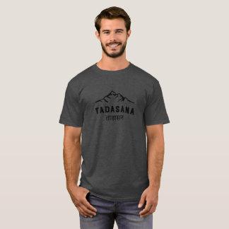Yogi Tadasana Sanskrit Mountain Vintage Mens Yoga T-Shirt