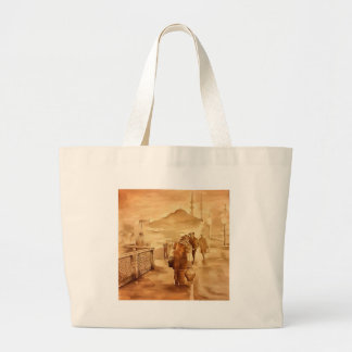 Yogurt Delivery In Istanbul pill Large Tote Bag