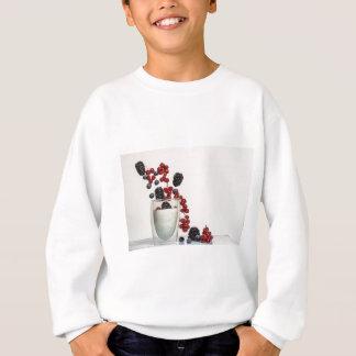 yogurt fresh berries sweatshirt