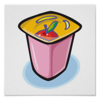 yogurt poster