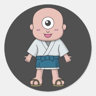 Yokai Hitotsume-kozou (One-Eyed Kid) Stickers