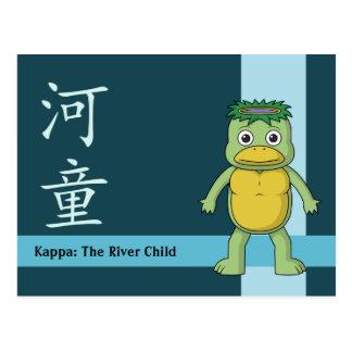 Yokai Kappa (River Imp) Postcard