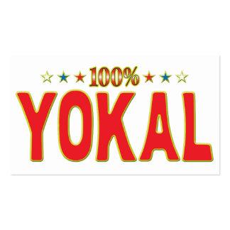 Yokal Star Tag Business Card Template