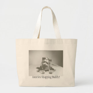 Yokie Shopping Bag-Aunties Shopping Buddy Large Tote Bag