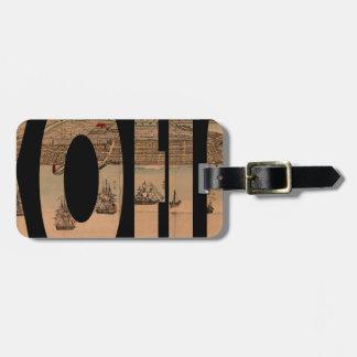 yokohama1855 luggage tag