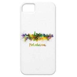 Yokohama skyline in watercolor iPhone 5 case