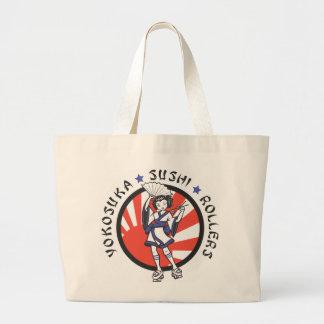 Yokosuka Sushi Roller Tote Bag
