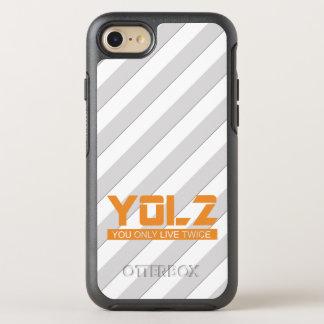 YOL2 You Only Live Twice Meme Stripes OtterBox Symmetry iPhone 7 Case