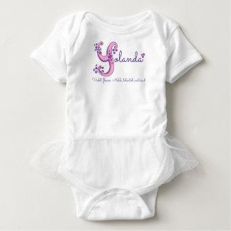 Yolanda girls name & meaning Y monogram shirt