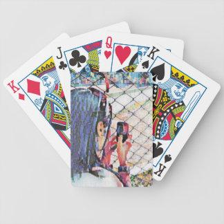 yolanda phone art bicycle playing cards