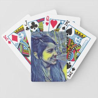 yolanda recuerdo daniel star bicycle playing cards
