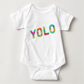 Yolo baby baby bodysuit