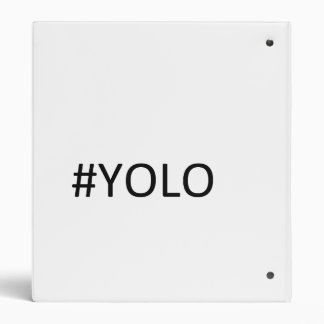 YOLO Binder