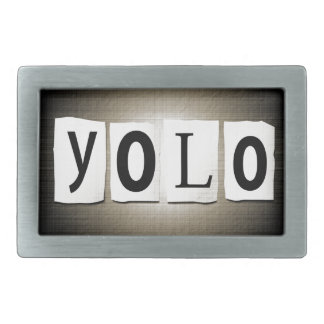 YOLO concept. Belt Buckle