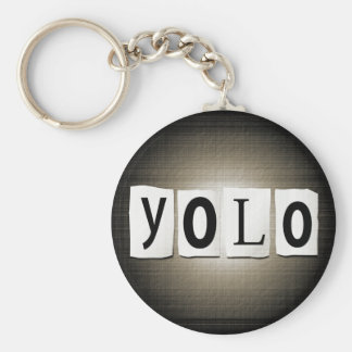 YOLO concept. Keychain