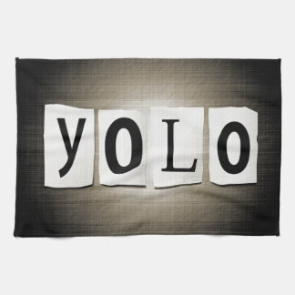 YOLO concept. Kitchen Towel