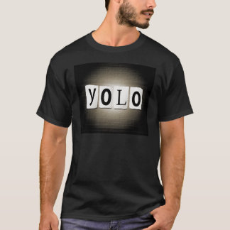 YOLO concept. T-Shirt