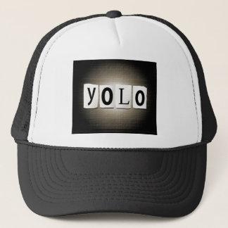 YOLO concept. Trucker Hat
