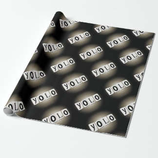 YOLO concept. Wrapping Paper