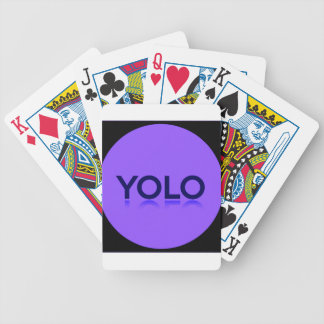 YOLO GEAR! BICYCLE PLAYING CARDS