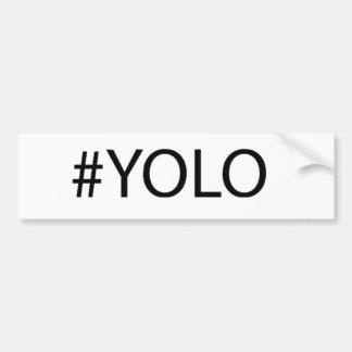 Yolo Gear Bumper Sticker