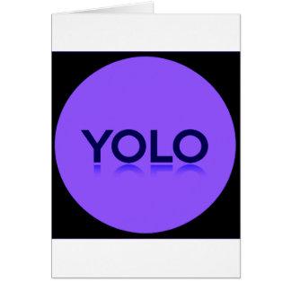YOLO GEAR! CARD
