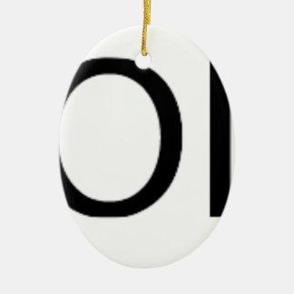 Yolo Gear Ceramic Ornament