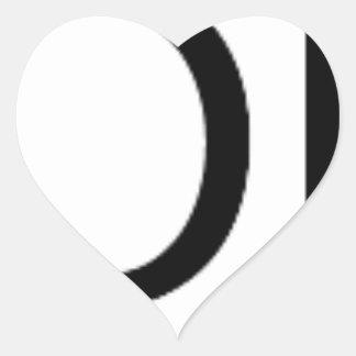 Yolo Gear Heart Sticker