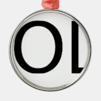 Yolo Gear Metal Ornament