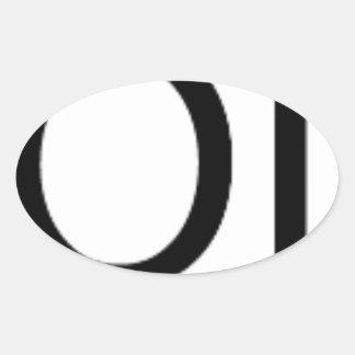 Yolo Gear Oval Sticker