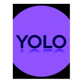 YOLO GEAR! POSTCARD