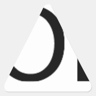 Yolo Gear Triangle Sticker