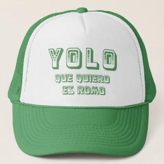 YOLO que quiero Trucker Hat