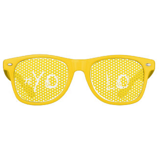#YOLO RETRO SUNGLASSES
