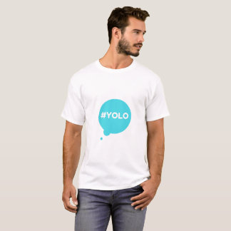 yolo teal t-shirt man