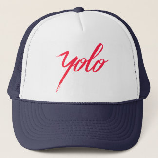 YOLO TRUCKER HAT