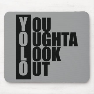 YOLO Vertical Box Mouse Pad