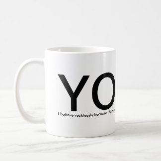 YOLO - You Only Live Once! please help me Mugs