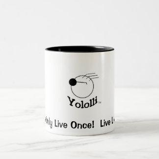 Yololli! Two-Tone Coffee Mug