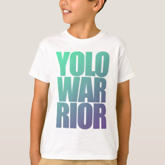 YOLOWARRIOR - Purquoise Letters T-Shirt