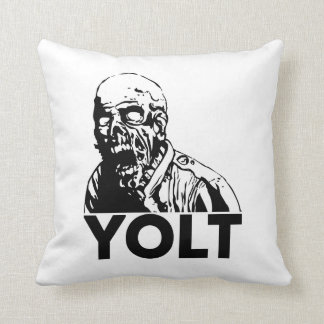 YOLT - You Only Live Twice Throw Pillow