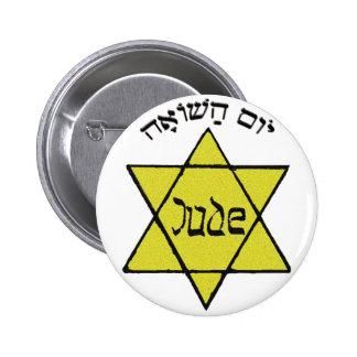 Yom HaShoah 2 Inch Round Button