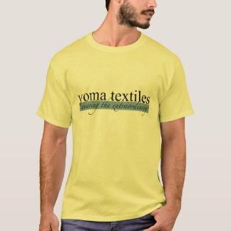 Yoma Textiles Blue Logo T-Shirt