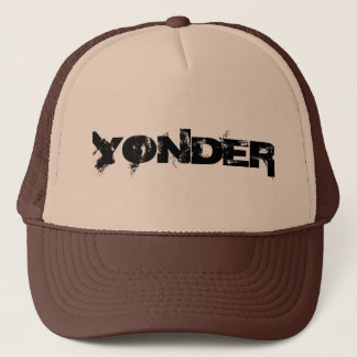 YONDER - Trucker Hat - Black and Tan