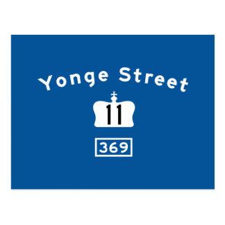 Yonge St 11 Postcard