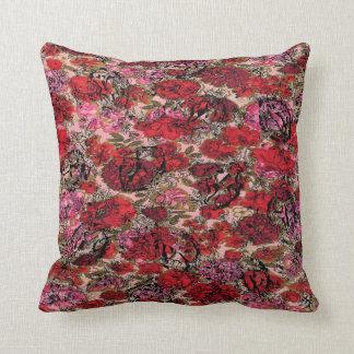 Yoni Garden Throw Pillow